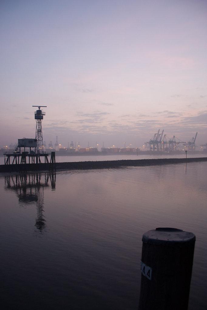 Die Themse in Hamburg